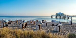 Strandkrbe in Timmendorfer Strand, Ostsee