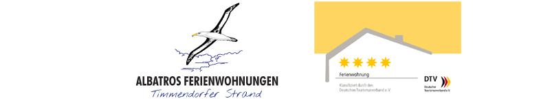 Ferienwohnung Timmendorfer Strand mit Hund-Haus Albatros Ferienwohnungen Logo